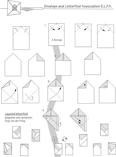 How To Fold An Envelope Out Of A4 Paper - 496 best origami envelopes images on origami