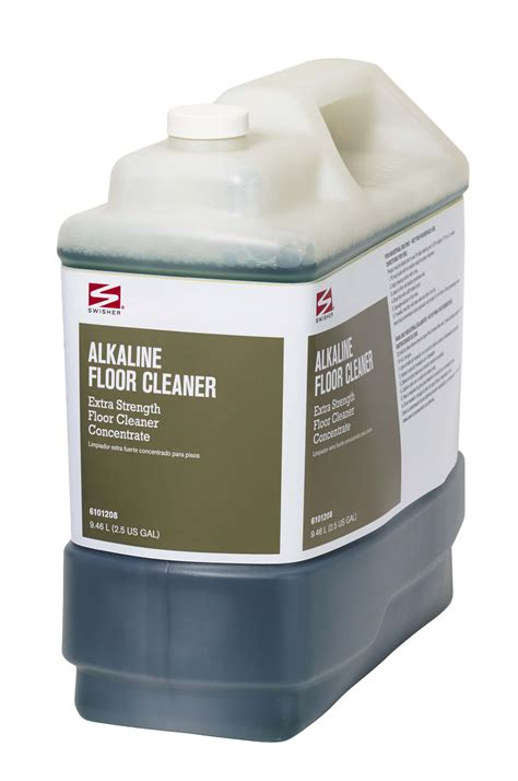 swisher bathroom supplies swisher alkaline floor cleaner