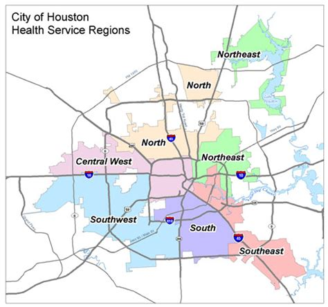 houston map by wards crime rate houston map