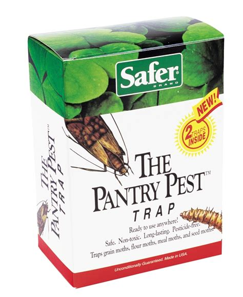 The Pantry Pest Trap safer pantry pest moth trap