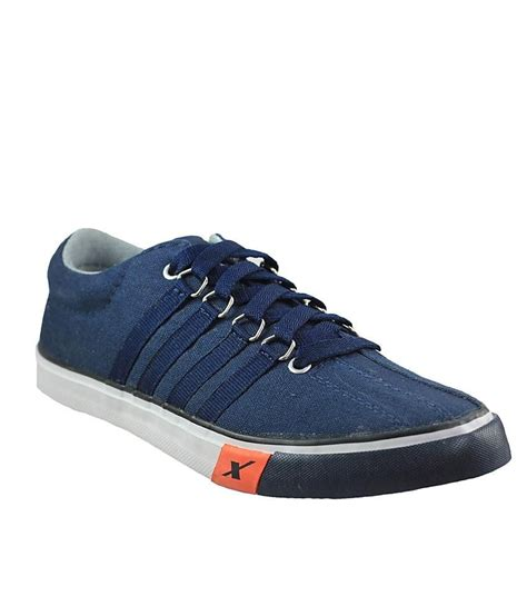 sparx trendy blue canvas shoes price in india buy sparx