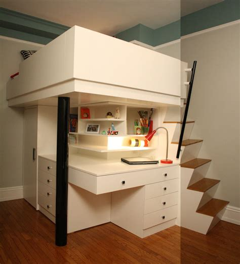 space saving corner desk cheerful loft bed for your children space saving corner