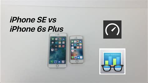 iphone se vs iphone 6s plus