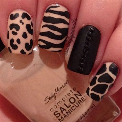 nails designs zebra print 22 zebra print nail designs nail designs for you