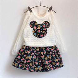clothes new autumn baby clothing sets flower