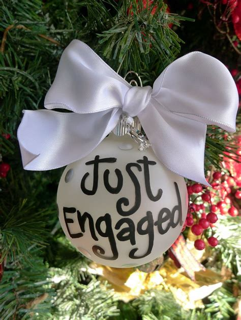 best christmas gift for newly engaged best 25 engagement ornaments ideas only on wedding ornament wedding