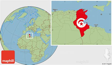 where is tunisia in the world map flag location map of tunisia savanna style outside