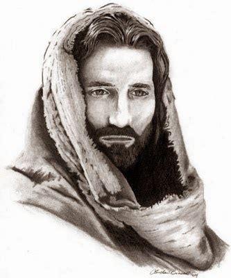 imagenes del rostro de jesus a blanco y negro meditando la escritura recurrir buscar y recordar