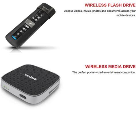 Wifi Flash Media sandisk connect wireless flash drive line announced legit reviews