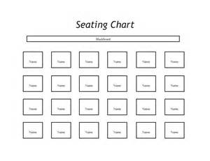 Classroom Seating Chart Template by 40 Great Seating Chart Templates Wedding Classroom More