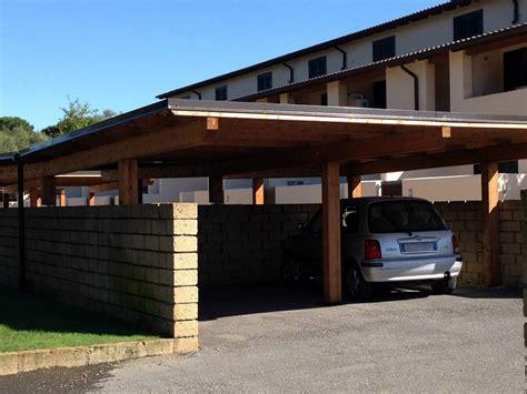 costruire box auto realizzazione box auto in legno tettoie in legno per