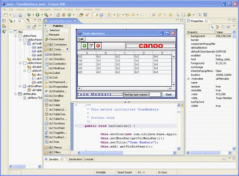 eclipse swing editor eclipse swing gui builder image search results