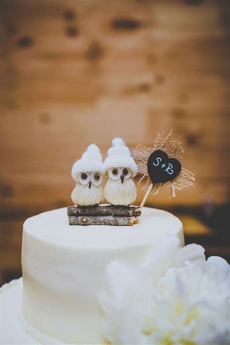 owl toppers 40 wedding ideas the ultimate wedding cake toppers