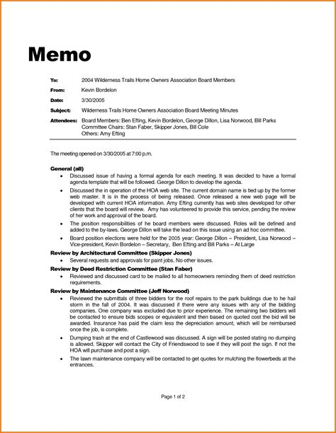 8 professional memo templatereference letters words