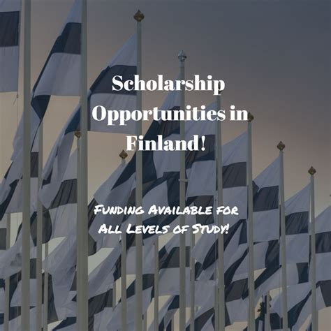 Finland Mba Scholarships by Scholarship Opportunities In Finland International