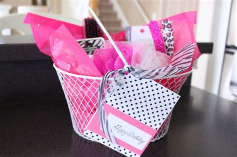 Girly Gifts - girly gift basket gift wrap