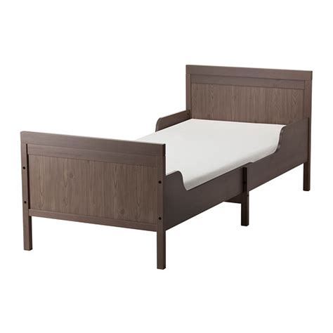 ikea extendable bed sundvik extendable bed grey brown 80x200 cm ikea