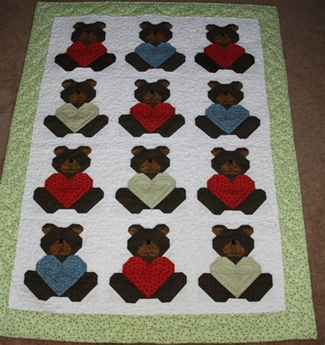teddy quilt sewing quilting embroidery patterns