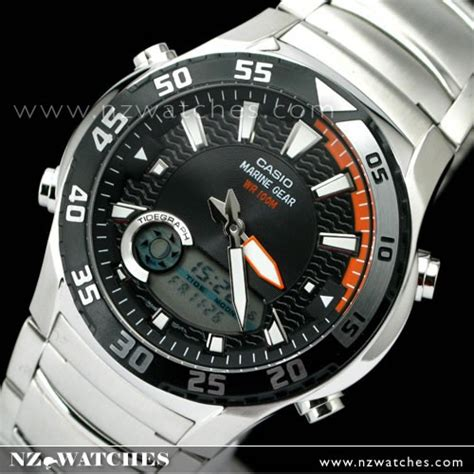 casio marine gear buy casio outgear marine gear tide moon phase amw 710d 1av