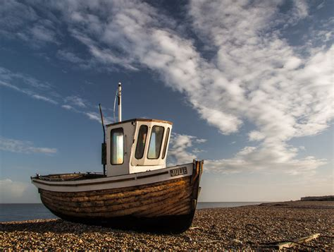 old boat on beach 238 old fishing boat deal beach kent by andyhicks on