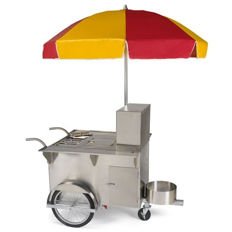 vendor cart the authentic new york vendor cart hammacher schlemmer