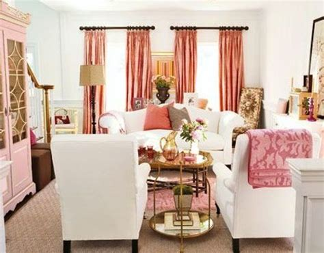 white pink living room pink and white living room living spaces