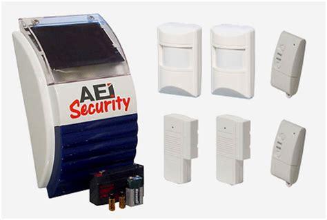 solar powered burglar alarms solar alarm systems