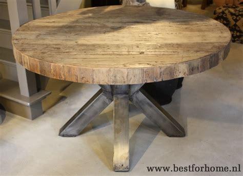 vierkante eettafel oud hout eettafel hout elegant brocante eettafel wit met oud hout