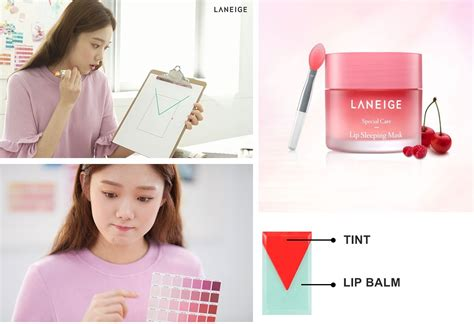 Laneige Lip Tint laneige two tone tint lip bar 2g 2017 new korean