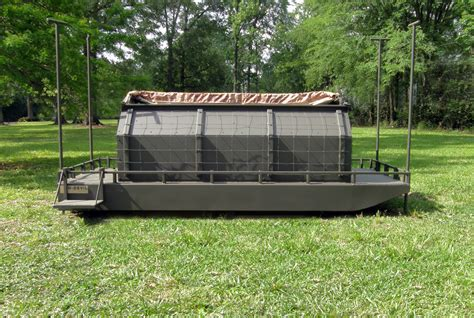 Duck Blind For Sale 12 x 5 floating duck blind go manufacturers