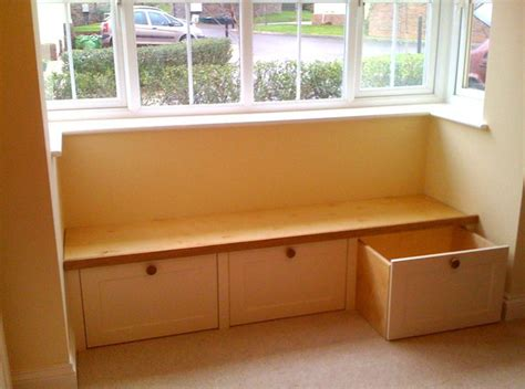 Window Seat With Cabinets by Window Seat Cabinets Rooms