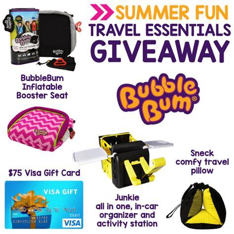 Visa Gift Card Packs - 75 visa gift card bubblebum prize pack giveaway
