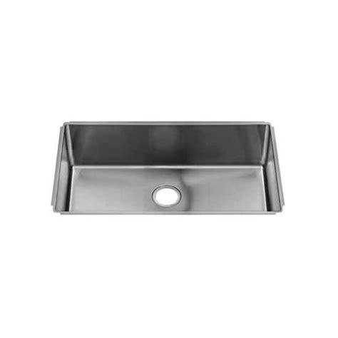 Julien Kitchen Sink Julien 025816 18 Stainless Steel J18 Collection Undermount Kitchen Sink With Single Bowl