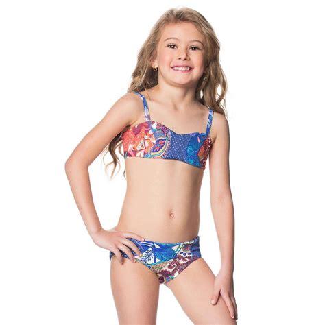 children swimsuits bikinis maaji kids 2016 floral landscape bikini 1611ksx