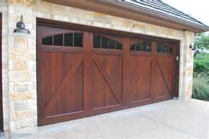 A E Garage Doors Sapele Mahogany Carriage House Garage Doors Craftsman Garage By Cowart Door Systems