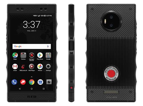 red pulls mentions  hydrogen  modules  website phonedog