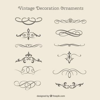decorative ornaments ornaments vectors photos and psd files free