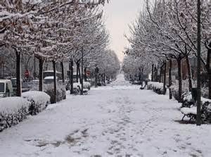 Veremos nieve en madrid este jueves