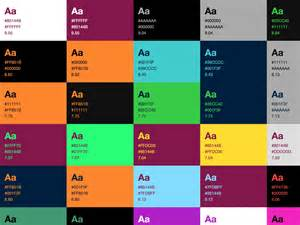 html text background color color palette documentation for living style guides writing