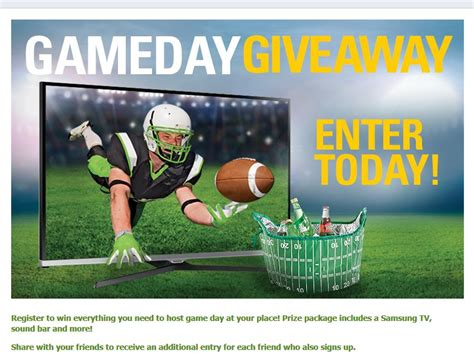 Sweepstake Games - game day giveaway sweepstakes sweepstakes fanatics