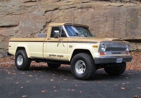 jeep j10 golden eagle 1978 jeep j10 4 215 4 pickup cars pinterest golden eagle