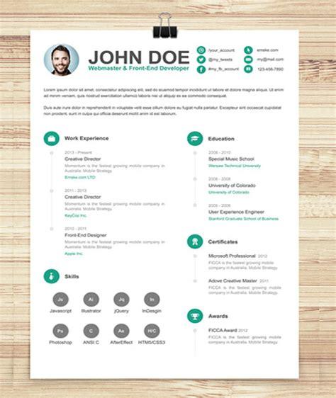 fun resume templates 112 best free creative resume