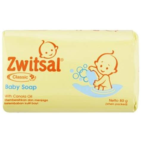 sell zwitsal baby soap classic 80 g from indonesia by toko istana perlengkapan bayi cheap price