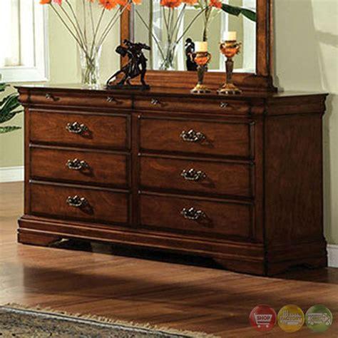 venice oak sleigh bedroom set with felt lined top