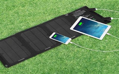 Lu Emergency Ms 1000 Solar Charger Batery ravpower s 15w solar charger offers affordable portable power review treehugger