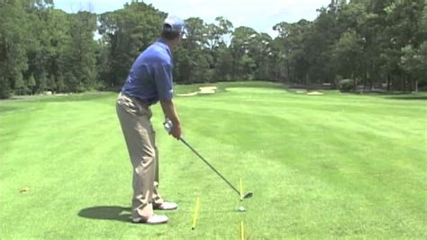 michael breed golf swing video michael breed s alignment station eyeline golf youtube