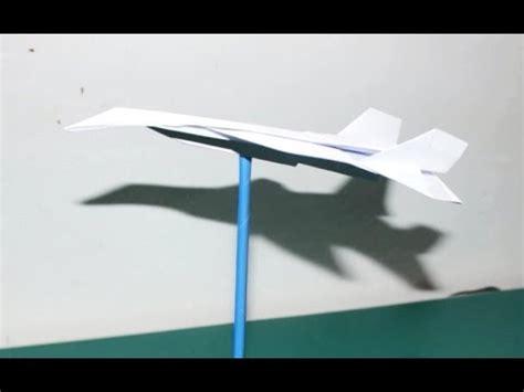 tutorial origami pesawat tempur origami cara membuat pesawat tempur f16 youtube