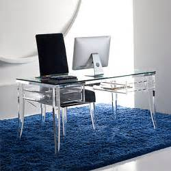 acryl schreibtisch acrylic home office desks for your interior design