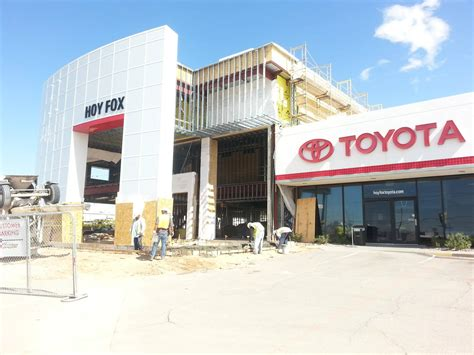 Hoy Fox Toyota Hoy Fox Toyota Of El Paso Nears The Completion Of