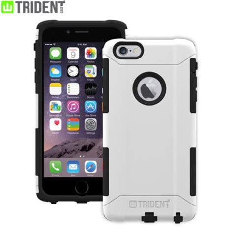 assorbente interno silicone custodia aegis trident per iphone 6 plus bianco